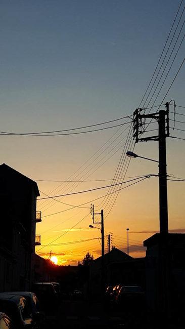 Départ de Cholet au petit matin (Galaxy S5)