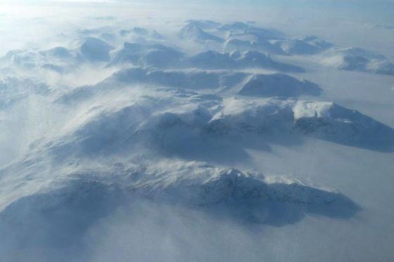 Les Conditions climatiques sont extrêmes en Arctique — ©G.Picard